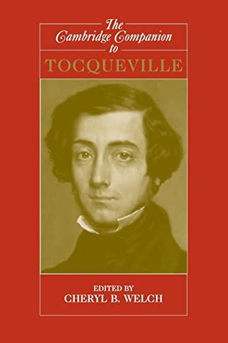 9780521549967: The Cambridge Companion to Tocqueville Paperback (Cambridge Companions to Philosophy)