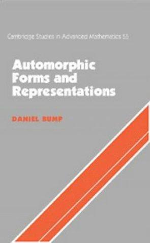 9780521550987: Automorphic Forms and Representations (Cambridge Studies in Advanced Mathematics)