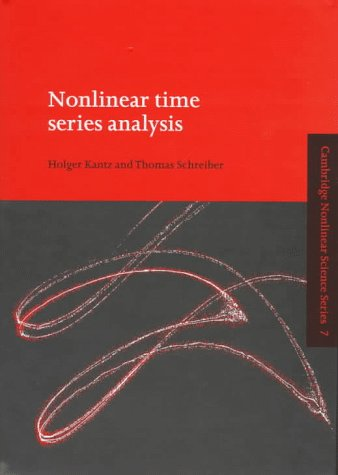 9780521551441: Nonlinear Time Series Analysis (Cambridge Nonlinear Science Series)