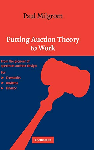 9780521551847: Putting Auction Theory to Work Hardback (Churchill Lectures in Economics)