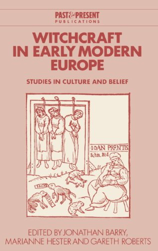 9780521552240: Witchcraft in Early Modern Europe: Studies in Culture and Belief (Past and Present Publications)