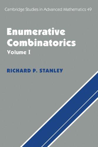 9780521553094: Enumerative Combinatorics, Vol. 1 (Cambridge Studies in Advanced Mathematics)