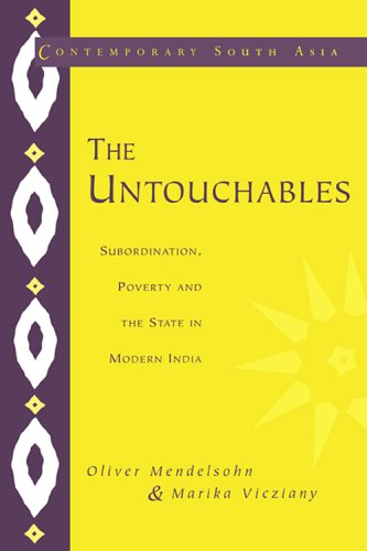 9780521553629: The Untouchables: Subordination, Poverty and the State in Modern India (Contemporary South Asia)