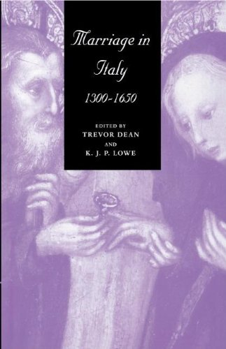 9780521554022: Marriage in Italy, 1300-1650