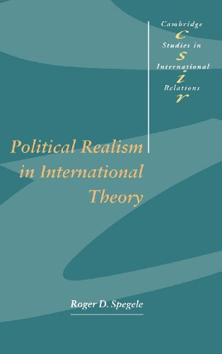 9780521554039: Political Realism in International Theory (Cambridge Studies in International Relations)