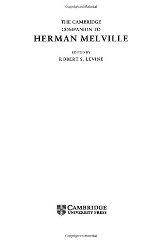 The Cambridge Companion to Herman Melville (Cambridge Companions to Literature): Levine, Robert S. ...