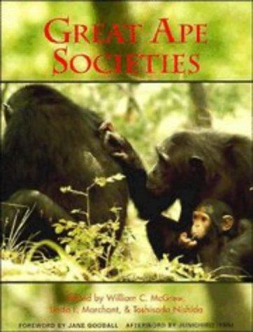 9780521554947: Great Ape Societies