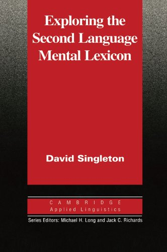 9780521555340: Exploring the Second Language Mental Lexicon (Cambridge Applied Linguistics)