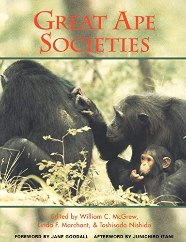 9780521555364: Great Ape Societies