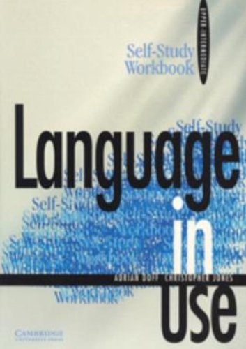 9780521555487: Language in Use Upper-intermediate Self-study workbook