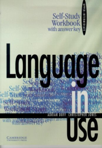 9780521555494: Language in Use Upper-intermediate Self-study workbook with answer key