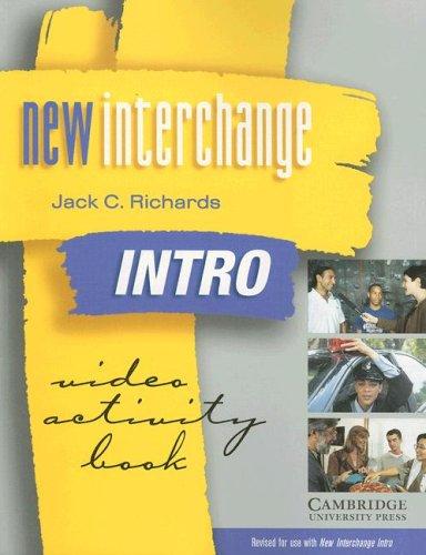 New Interchange Intro: Video Activity Book: Jack C. Richards