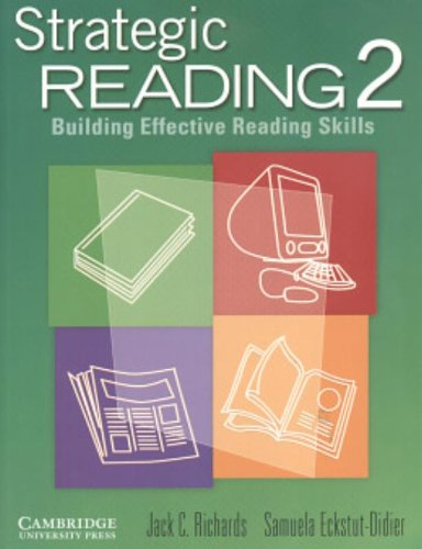 9780521555791: Strategic Reading 2: Building Effective Reading Skills