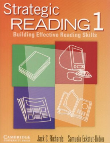 9780521555807: Strategic Reading 1 Student's book: Building Effective Reading Skills