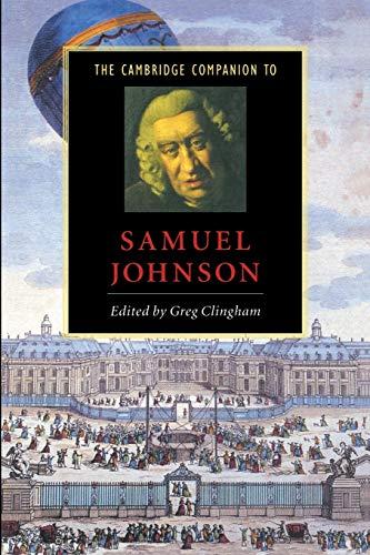 The Cambridge Companion to Samuel Johnson: Clingham, Greg