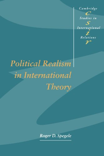 9780521556354: Political Realism in International Theory (Cambridge Studies in International Relations)
