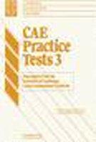9780521556828: CAE Practice Tests 3 Teacher's book
