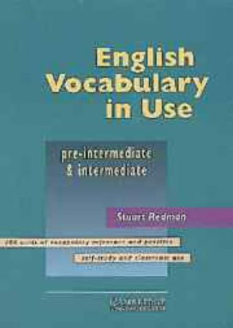9780521557375: English Vocabulary in Use Pre-intermediate and Intermediate with Answers