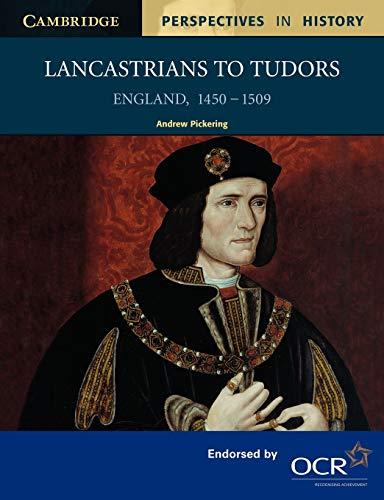 9780521557467: Lancastrians to Tudors: England 1450-1509
