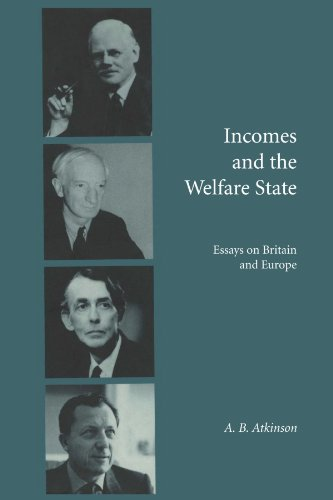 9780521557962: Incomes and the Welfare State: Essays on Britain and Europe
