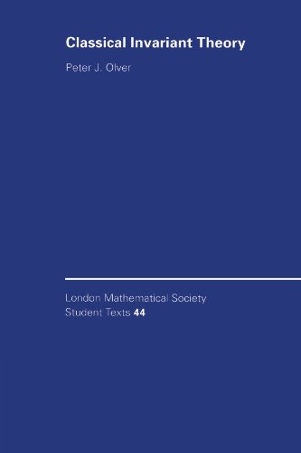 9780521558211: Classical Invariant Theory (London Mathematical Society Student Texts)