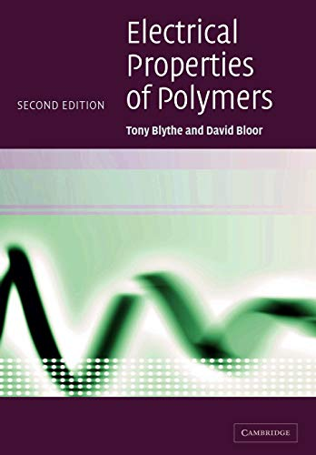 9780521558389: Electrical Properties of Polymers
