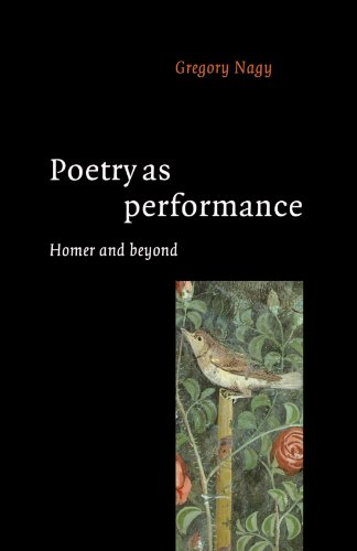 9780521558488: Poetry as Performance: Homer and Beyond