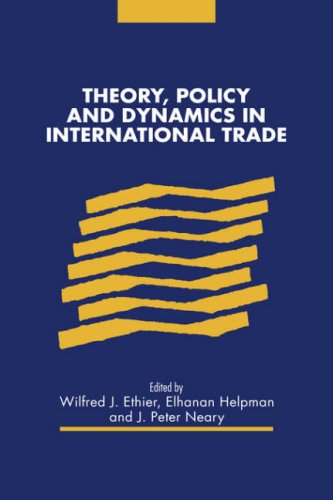 9780521558525: Theory, Policy and Dynamics in International Trade