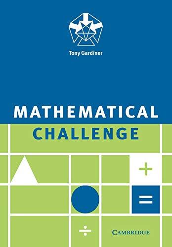 9780521558754: Mathematical Challenge