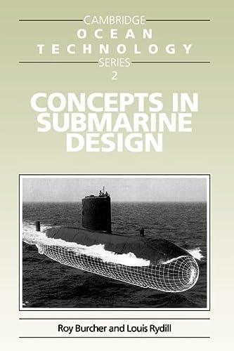 9780521559263: Concepts in Submarine Design Paperback (Cambridge Ocean Technology Series)