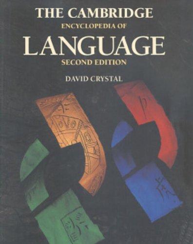 9780521559676: The Cambridge Encyclopedia of Language