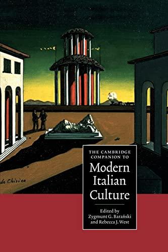 9780521559829: The Cambridge Companion to Modern Italian Culture Paperback (Cambridge Companions to Culture)