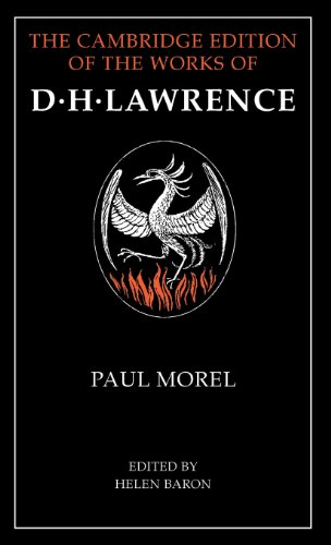 9780521560092: Paul Morel (The Cambridge Edition of the Works of D. H. Lawrence)