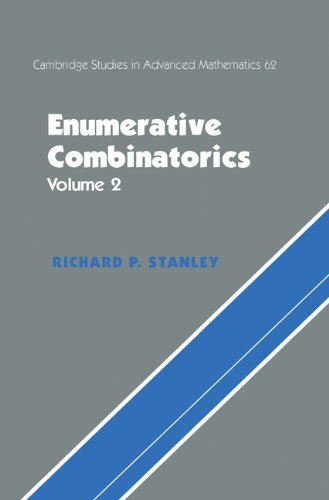 9780521560696: Enumerative Combinatorics: Volume 2: Vol 2 (Cambridge Studies in Advanced Mathematics)