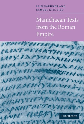 9780521560900: Manichaean Texts from the Roman Empire