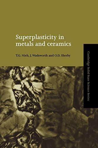 9780521561051: Superplasticity in Metals and Ceramics (Cambridge Solid State Science Series)