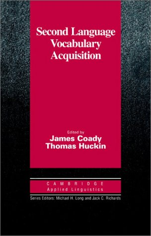 9780521561327: Second Language Vocabulary Acquisition: A Rationale for Pedagogy (Cambridge Applied Linguistics)