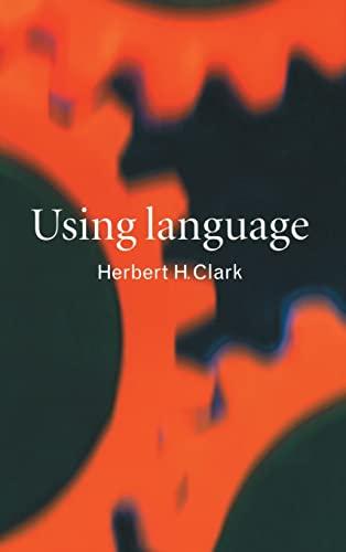 9780521561587: Using Language