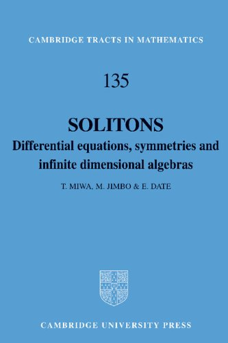 9780521561617: Solitons Hardback: Differential Equations, Symmetries and Infinite Dimensional Algebras (Cambridge Tracts in Mathematics)