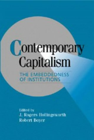 9780521561655: Contemporary Capitalism Hardback: The Embeddedness of Institutions (Cambridge Studies in Comparative Politics)