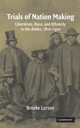 9780521561716: Trials of Nation Making: Liberalism, Race, and Ethnicity in the Andes, 1810–1910