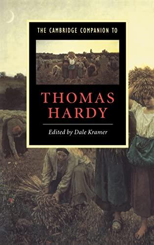 9780521562027: The Cambridge Companion to Thomas Hardy (Cambridge Companions to Literature)