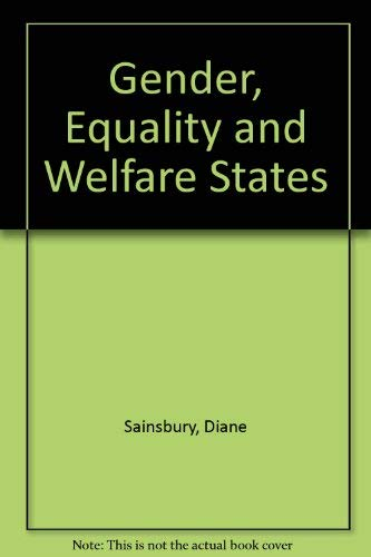 9780521562775: Gender, Equality and Welfare States