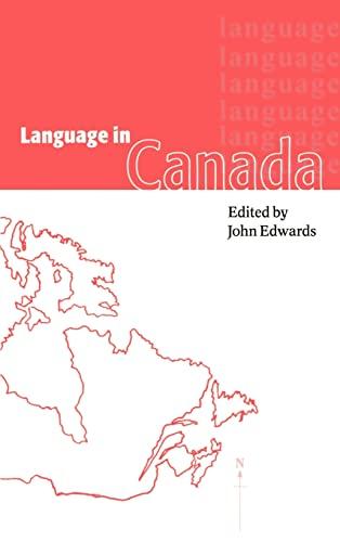 9780521563284: Language in Canada