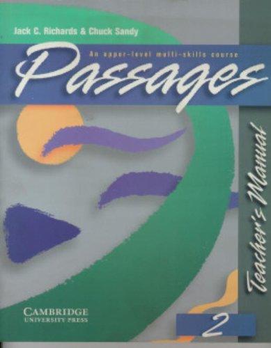 9780521564670: Passages Teacher's Manual 2: An Upper-Level Multi-Skills Course