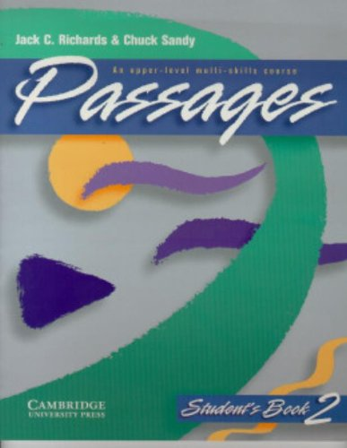 9780521564717: Passages Student's book 2: An Upper-level Multi-skills Course