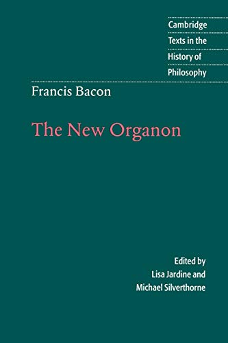 9780521564830: Francis Bacon: The New Organon (Cambridge Texts in the History of Philosophy)