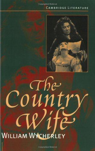 9780521565813: The Country Wife (Cambridge Literature)