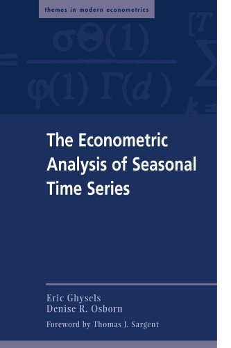 9780521565882: The Econometric Analysis of Seasonal Time Series (Themes in Modern Econometrics)