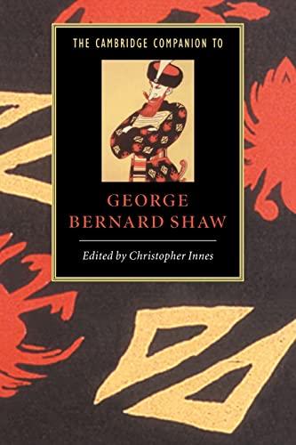 9780521566339: The Cambridge Companion to George Bernard Shaw (Cambridge Companions to Literature)